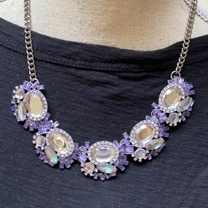 NWT crystal necklace